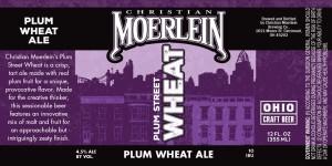 Moerlein-PlumStWheat - Label