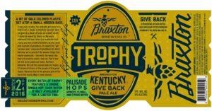 Braxton - Trophy Palisade - Label
