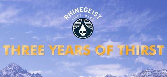 Rhinegeist Third Anniversary Cover