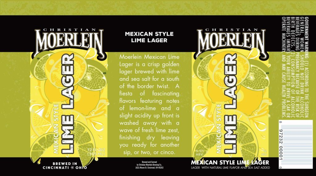 Moerlein Is Releasing Mexican Lime Lager In Cans The
