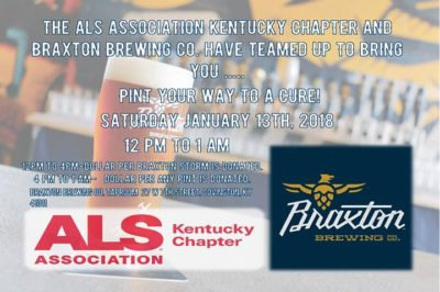 Pint Your Way To A Cure @ Braxton Brewing Company | Covington | KY | United States