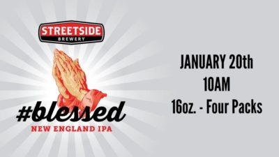 #Blessed Can Release @ Streetside @ Streetside Brewing | Cincinnati | Ohio | United States