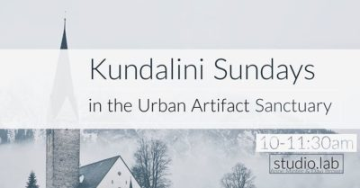 Kundalini Sundays @Urban Artifact Sanctuary Space @ Urban Artifact | Cincinnati | OH | United States