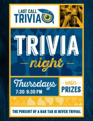 Last Call Trivia @ Wooden Cask Brewing Company | Newport | KY | United States