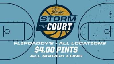Storm the Court at Flipdaddy's @ Flipdaddy's Burgers & Beers
