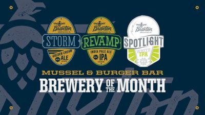 March Brewery of the Month @ Mussel and Burger Bar 2 Downtown.   Louisville   KY   United States