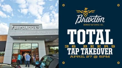 Braxton Total Tap Takeover @ Flip Daddy's | Newport | KY | United States