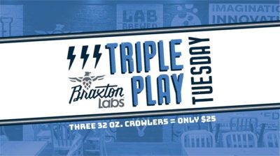 Triple Play Tuesday @ Braxton Labs | Newport | KY | United States