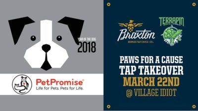 Paws for a Cause Tap Takeover
