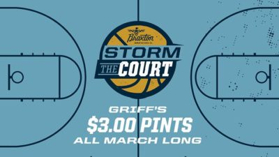 Storm the Court $3.00 Pints @ Griff's | Louisville | KY | United States