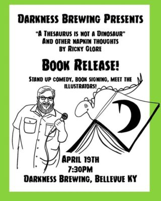 Book Release Party at Darkness Brewing - Stand Up Comedy @ Darkness Brewing | Bellevue | KY | United States