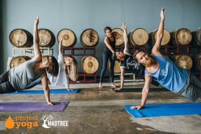 Yoga + Brunch supporting Project Yoga @ MadTree Taproom | Cincinnati | OH | United States