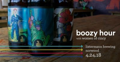 April Boozy Hour with Women of Cincy @ Listermann Brewing Company   Cincinnati   OH   United States