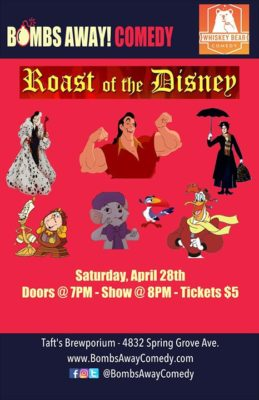 Roast of the Disney - Cincinnati Edition @ Taft's Brewing Company - Brewpourium & Apizza | Cincinnati | OH | United States