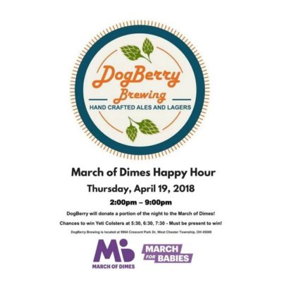 GE March of Dimes Happy Hour @ DogBerry Brewing | West Chester | OH | United States