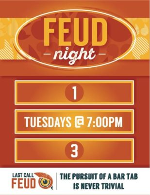 Last Call Feud! @ Wooden Cask Brewing Company | Newport | KY | United States