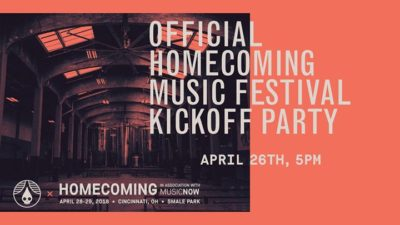 Official Homecoming Music Festival Kickoff Party @ Rhinegeist | Cincinnati | OH | United States