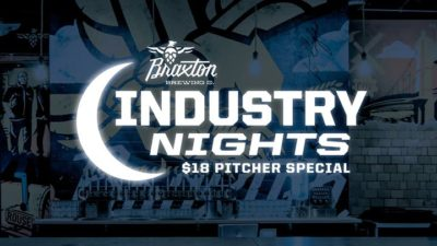 Industry Nights at Braxton @ Braxton Brewing Company | Covington | KY | United States