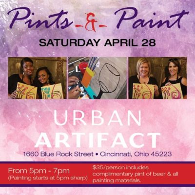 Pints & Paint @ Urban Artifact | Cincinnati | OH | United States